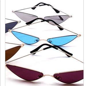 Trendy modern sunglasses
